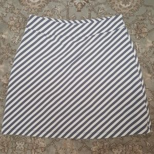 Athleta striped skort